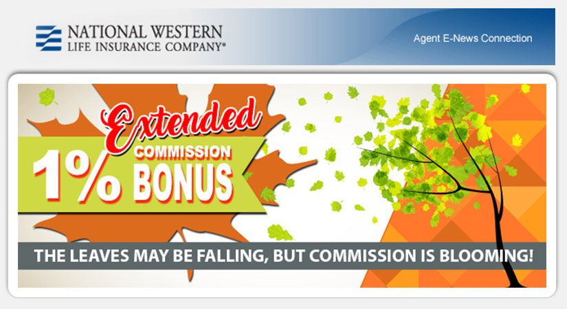 National Western – Extended 1% Commission Bonus