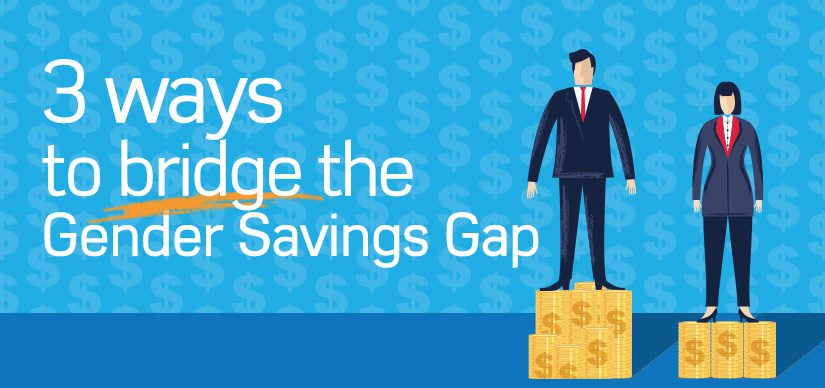 3 Ways to bridge the Gender Savings Gap